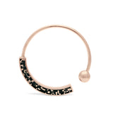 Cynthia Bangle - Bronze - Mosaic Inlay -