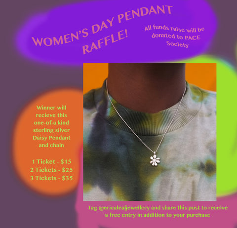 Women's Day Pendant Raffle - PACE Society