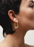 Wray Earrings Bronze/Black