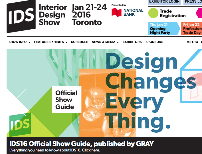 A terrific weekend at IDS Toronto