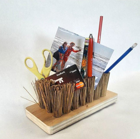 modify contest submission modern desk organizer with recycled material