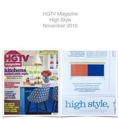 hdtv magazine post about modify furniture high style