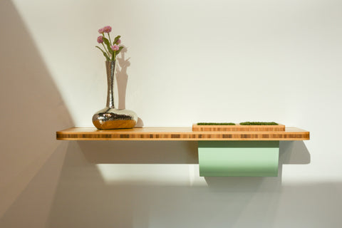wall shelf on display at ids toronto