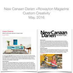 new canaan magazine editorial about modify furniture