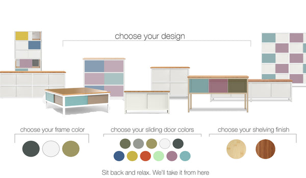 how to design your custom modern furniture in four simple steps