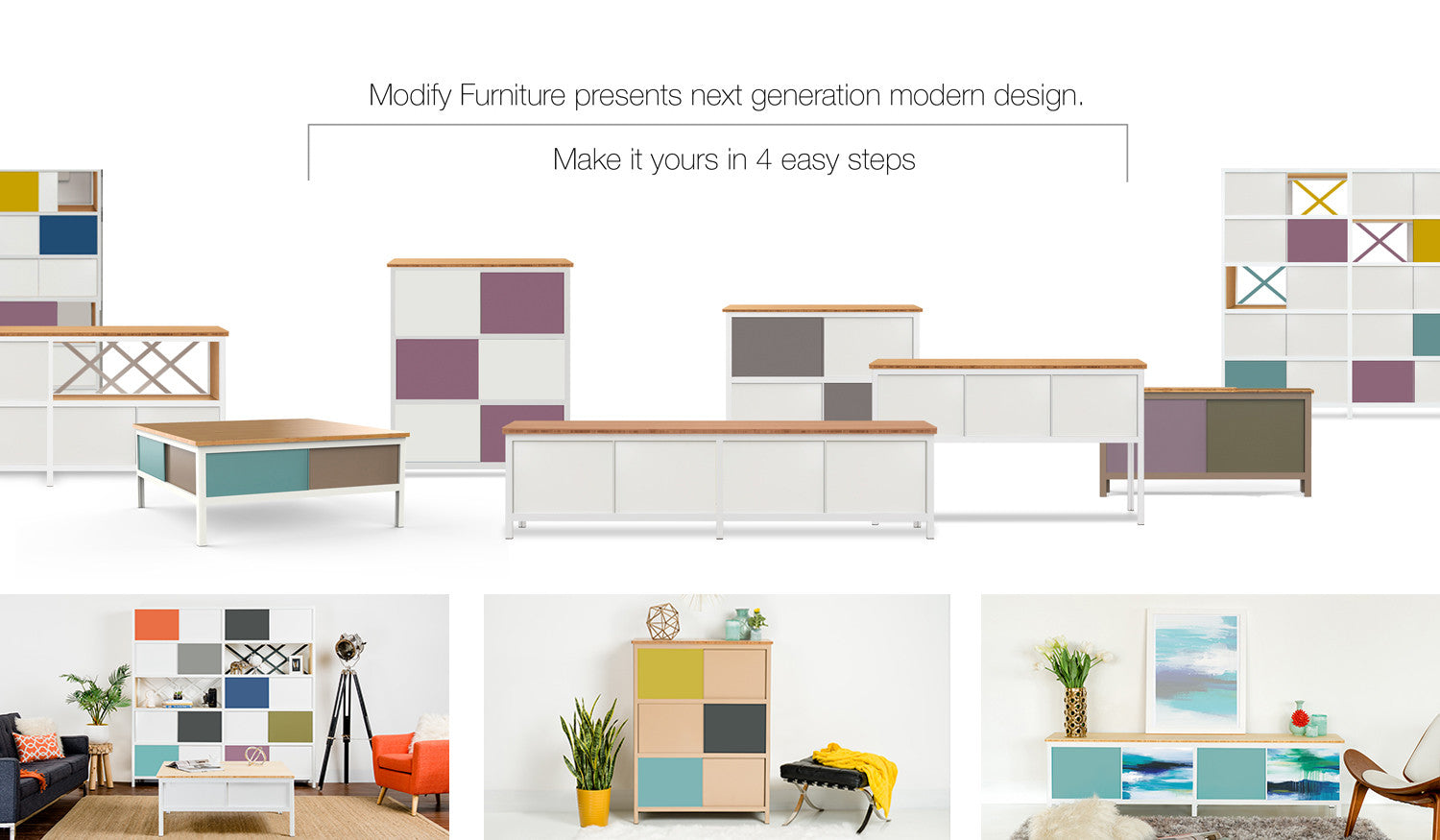 modify furniture modern modular storage