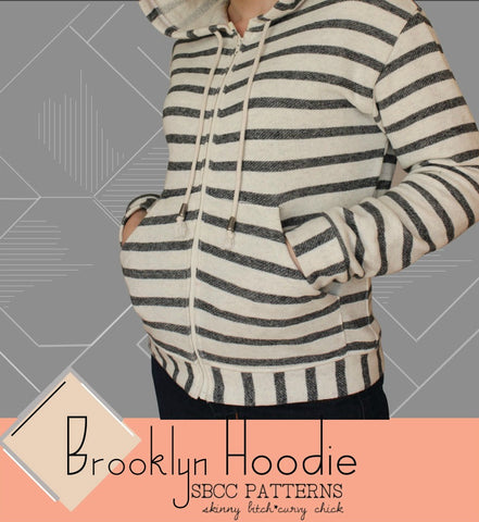 SBCC Patterns Brooklyn Hoodie