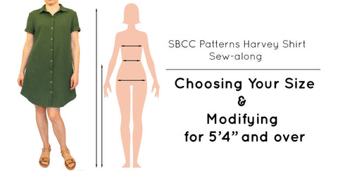 Harvey Shirt Sew-Along: Selecting Your Size – SBCC Patterns