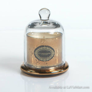 Apothecary Guild Scented Glass Dome Candle - Vanilla Orchid