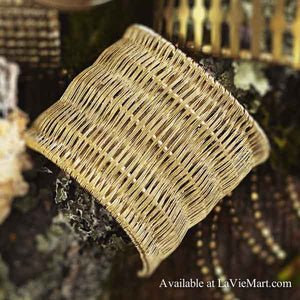 Roost basketweave cuff