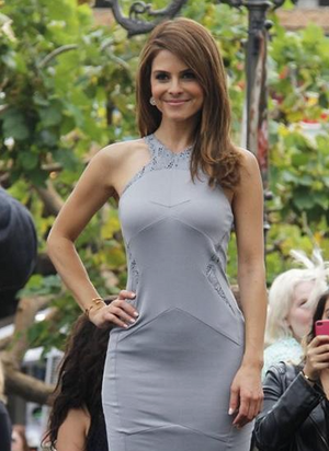 La Vie en Rose, Maria Menounos, Melinda Maria Nailhead Bangle Gold