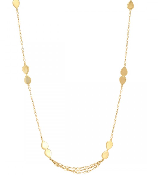 La Vie en Rose, June Necklace Gold