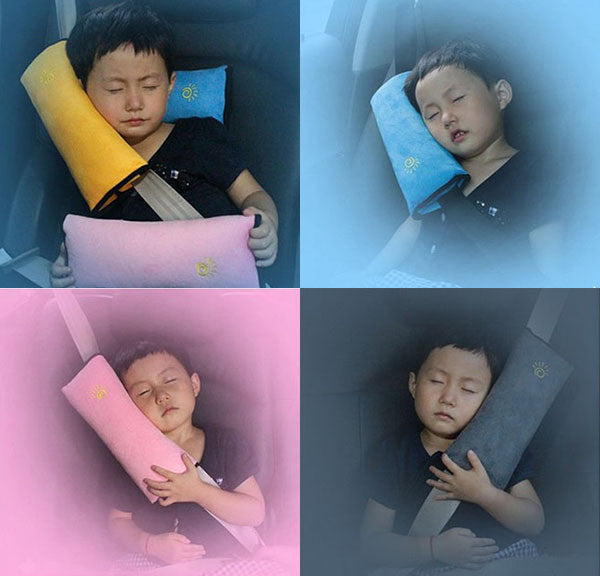 Kid'S Children Car Bed Safety Seat Belt Cushion Pillow Sleep Cover