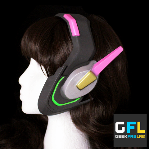 D.Va Replica Headset Overwatch