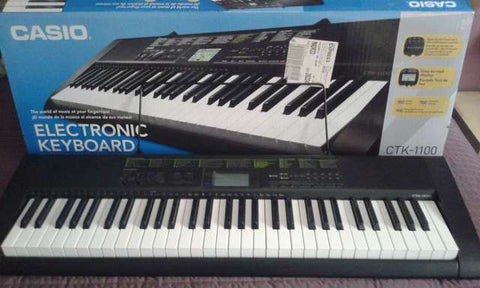 CASIO CTK-1100 61key electronic piano