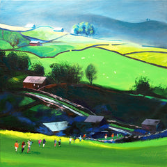 Landscape canvas prints like this one of Sleddale are for sale direct from the studio of Neil McBride