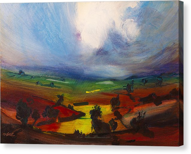 Awesome countryside landscape art on canvas by Neil McBride