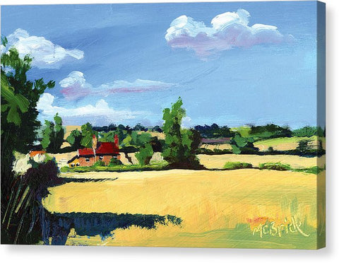 Crayke Farm North Yorkshire - Canvas Print