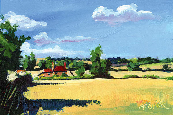Crayke Farm North Yorkshire - Art Prints - Neil McBride Art