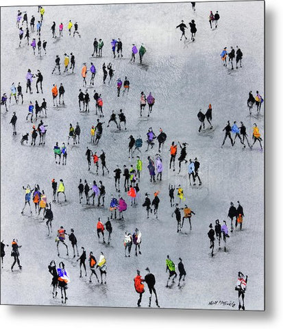 On The Beat - Metal Print