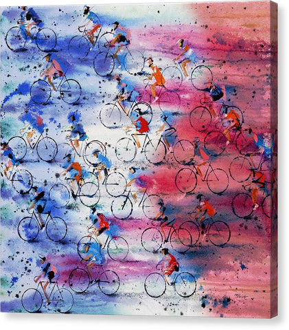 Tour De France - Canvas Print