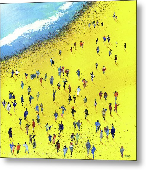 Beach Bums - Metal Print - Neil McBride Art