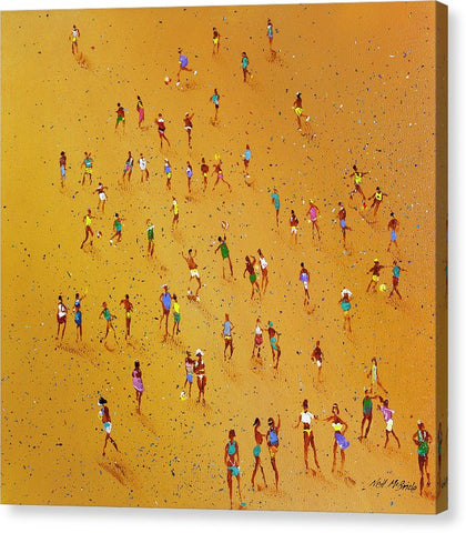 Beach Games - Canvas Print