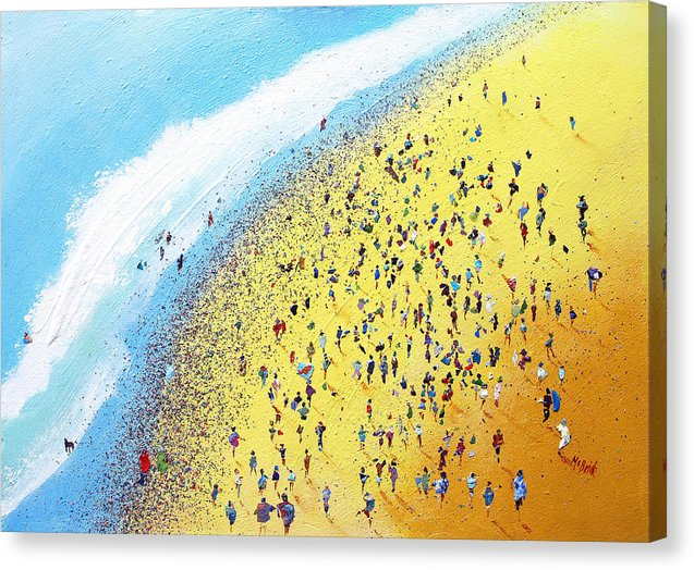 Beach Party - Canvas Print - Neil McBride Art