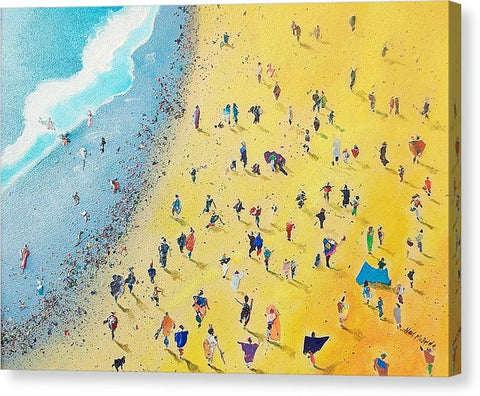 Canvas Print - Beachcombing