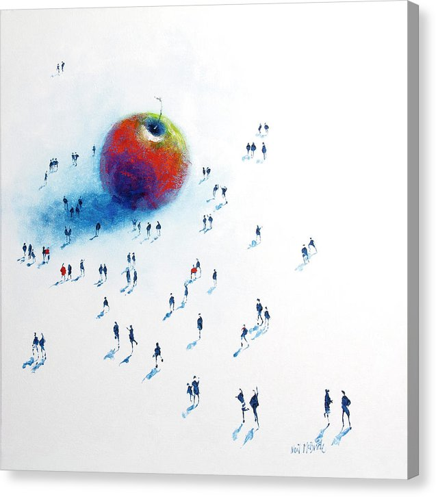 Big Apple art on canvas © Neil McBride 2019