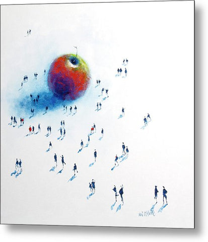 Big Apple 2 - Metal Print