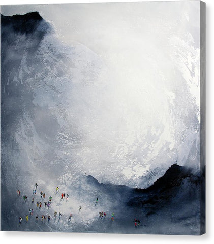 Break In The Weather - Canvas Print