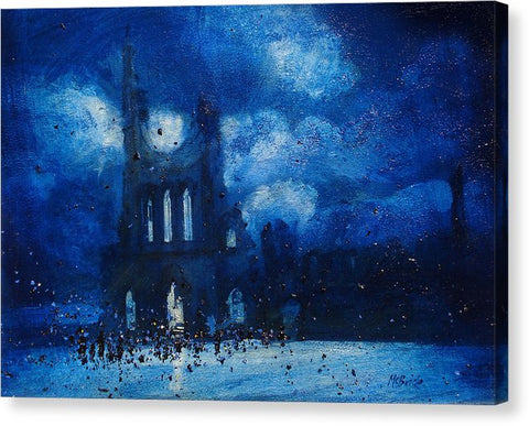 Byland Abbey Gathering - Canvas Print