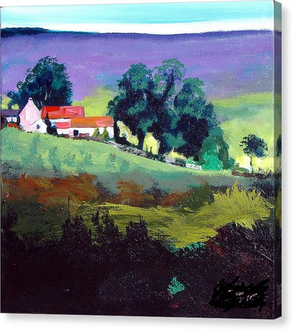 Clitherbecks Farm in the North York Moors - Canvas Print