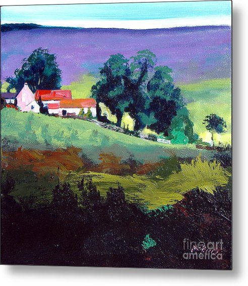 Clitherbeck In The North York Moors - Metal Print