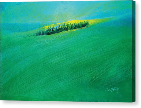 Coastal Copse - Canvas Print - Neil McBride Art