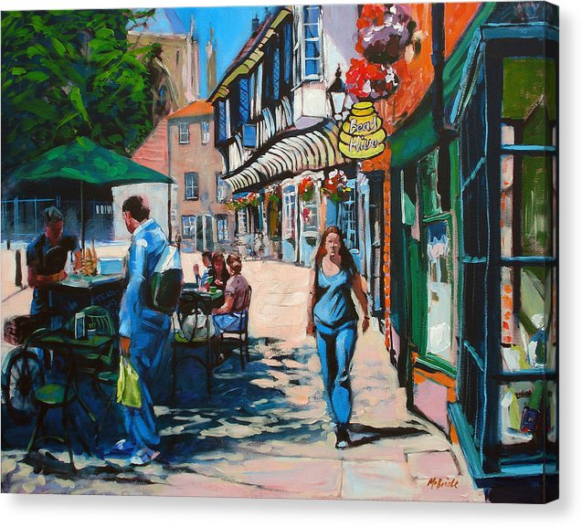 College Street York - Canvas Print