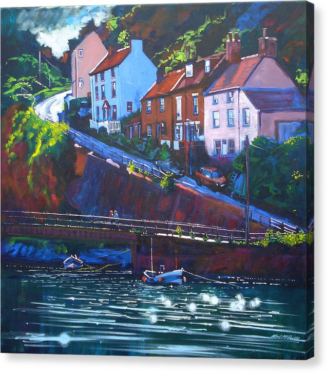 Cowbar - Staithes - Canvas Prints - Neil McBride Art