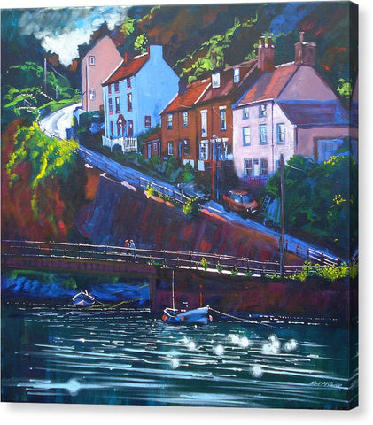 Cowbar - Staithes - Canvas Prints