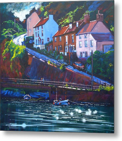 Cowbar, Staithes - Metal Prints