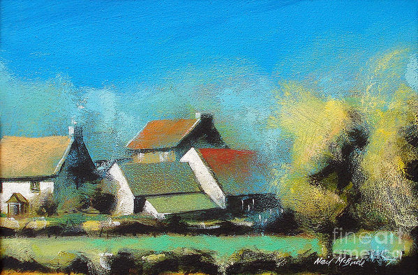 Crich Farm - Art Print - Neil McBride Art