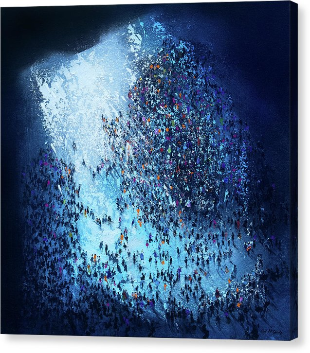 Crowd Out Of Concert - Canvas Prints.