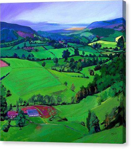 Dales Patchwork - Canvas Print