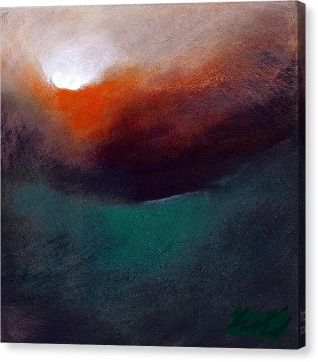 Depth Charged - Canvas Print - Neil McBride Art