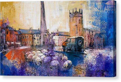 Dyed In The Wool in Richmond - Canvas Print - Neil McBride Art