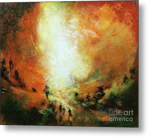 End Of The Day - Metal Print