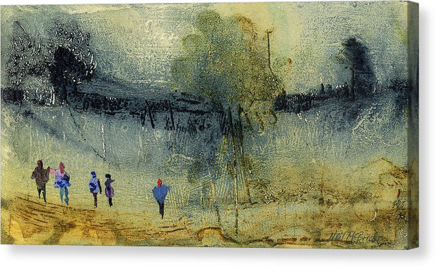 Escape To The Country - Canvas Print - Neil McBride Art