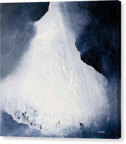 Gaping Gill Yorkshire By Neil Mcbride - Canvas Print