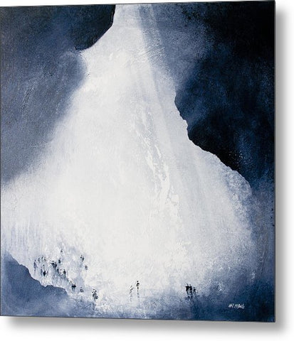 Gaping Gill Yorkshire - Metal Print