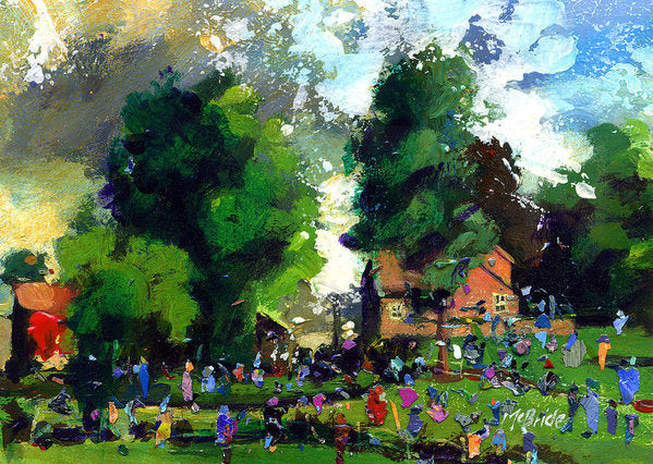 Garden Party - Art Print - Neil McBride Art